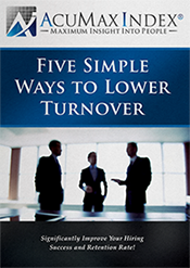 Five Simple Ways to Lower Employee Turnover
